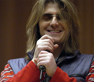 Mitch Hedberg, having no doubt just said something Hi-larious.