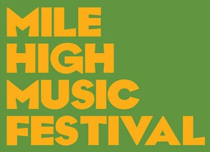 Mile High Music Festival Lineup Announced