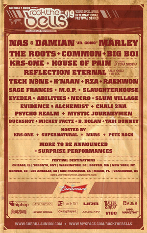 Rock The Bells Festival // Los Angeles   August 8th