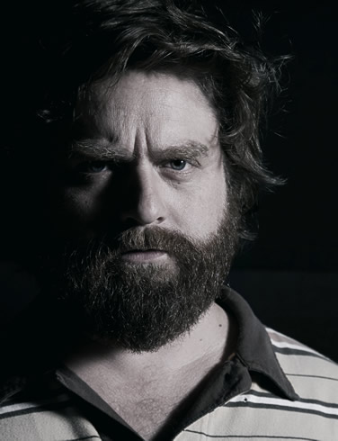 Zach Galifianakis // death + taxes
