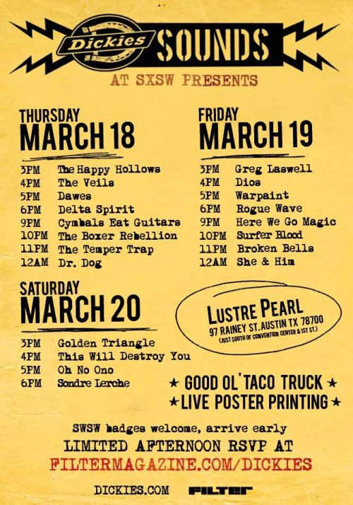 SXSW // Dickies Sounds Party