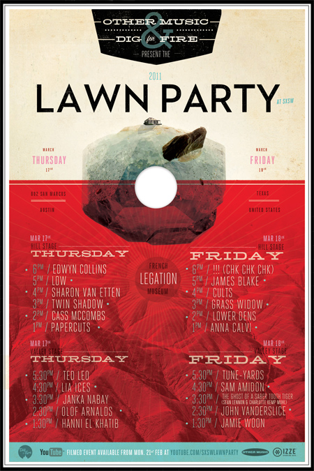 Other Music ::  Lawn Party [SXSW]