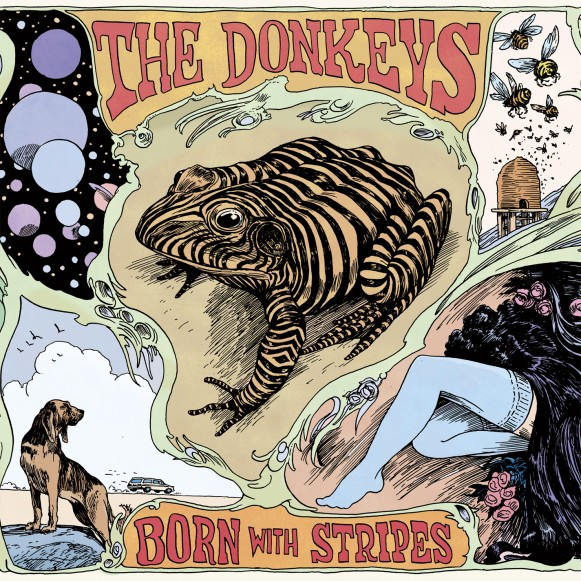 The Donkeys :: Born With Stripes