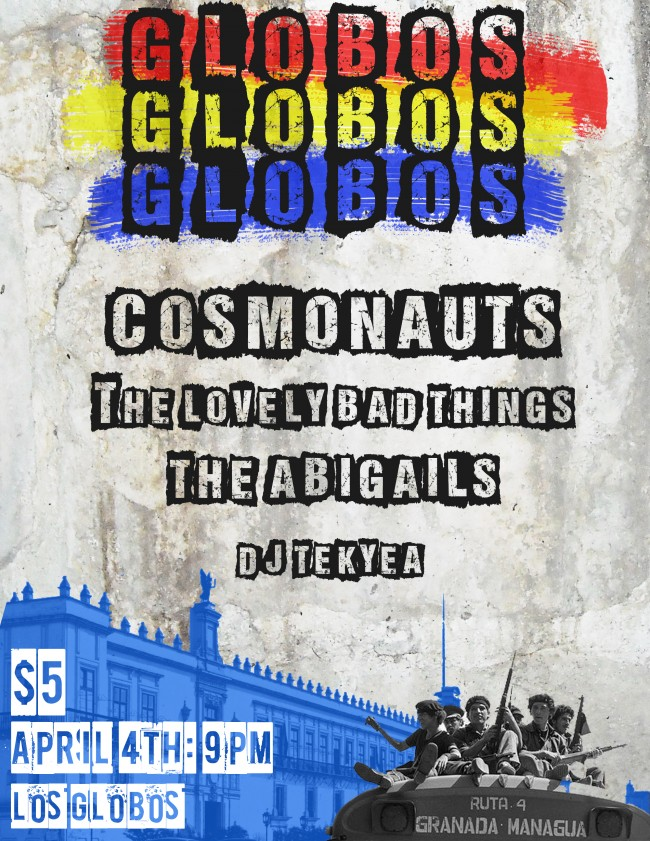 Cosmonauts + Lovely Bad Things :: Los Globos 4/4