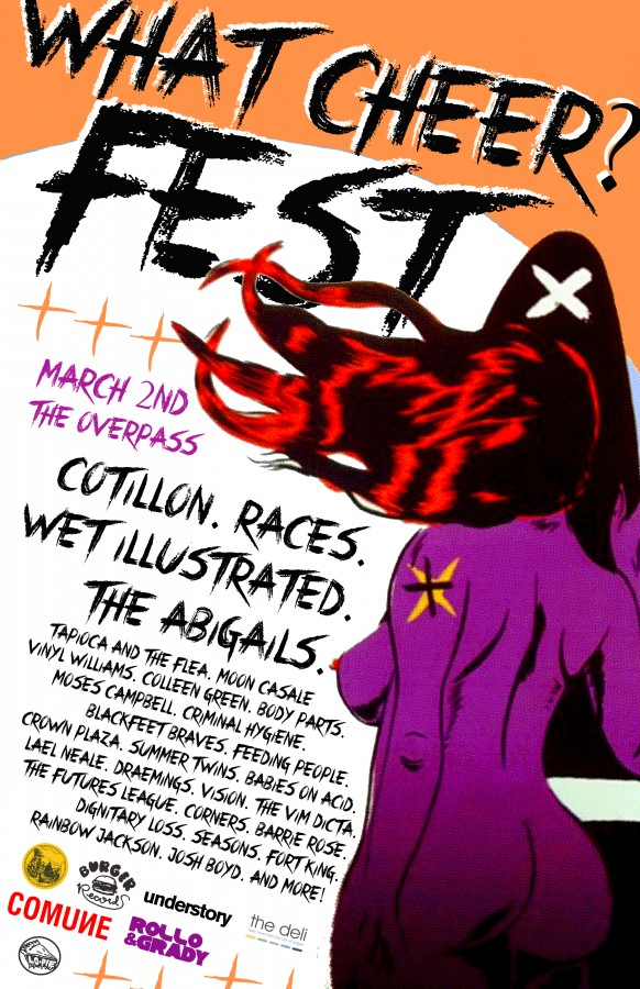 What Cheer? Festival :: Thee Overpass   March 2nd
