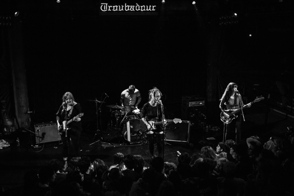 Bleached @ The Troubadour   Wednesday, May 8th [Images]