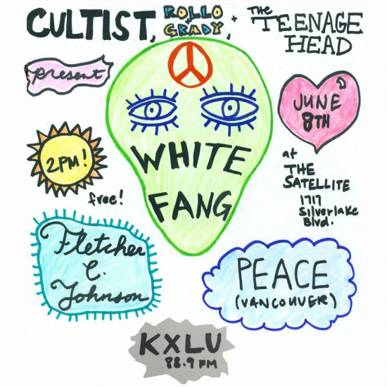 June 8 Flyer KXLU Square