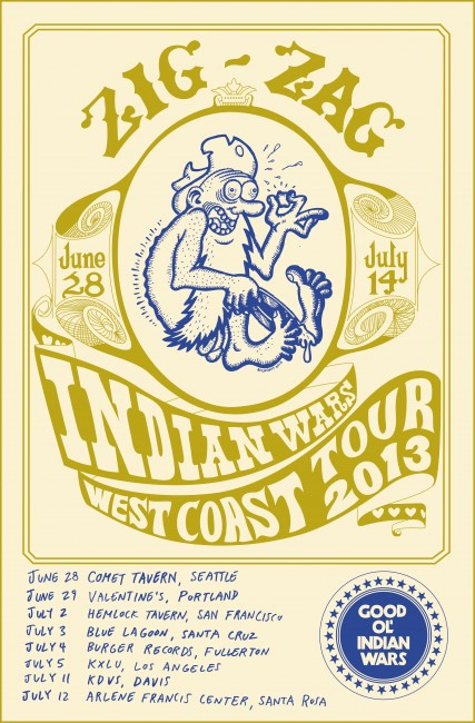 Indian Wars :: West Coast Tour
